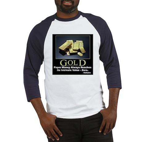 Gold Baseball Jersey