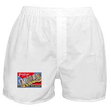Dallas Texas Greetings Boxer Shorts