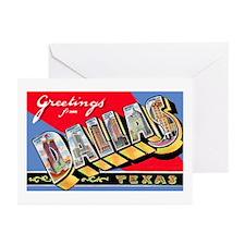 Dallas Texas Greetings Greeting Cards (Pk of 10)