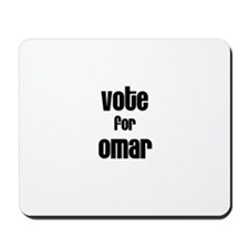 Vote for Omar Mousepad