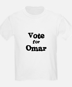 Vote for Omar Kids T-Shirt
