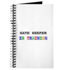 Gate Keeper In Training Journal