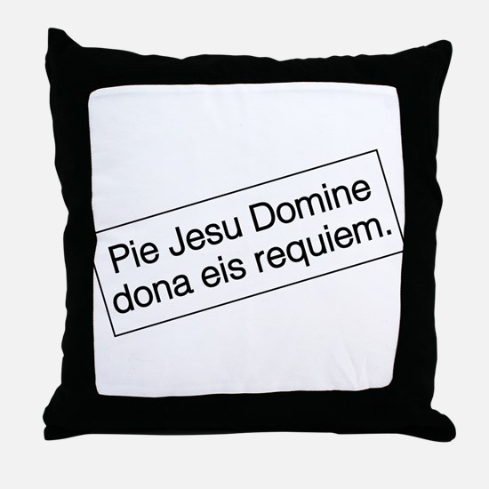 Funny Monty python Throw Pillow