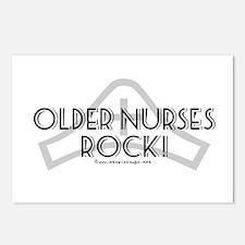 Older Nurses Rock! Postcards (Package of 8)