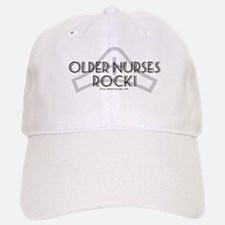 Older Nurses Rock! Baseball Baseball Cap