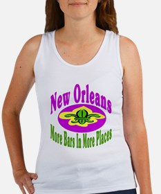 More Bars In More Places Women's Tank Top