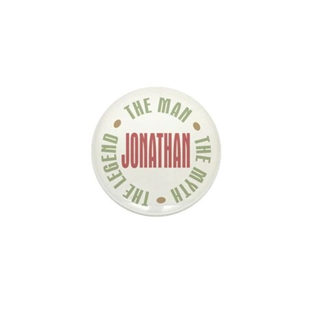 Jonathan Man Myth Legend Mini Button