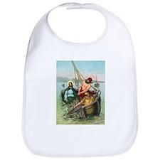 Jesus Fishing Bib