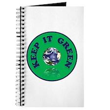 KEEP IT GREEN Journal
