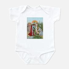 Moses in a basket Infant Bodysuit
