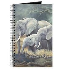 Funny Indian elephants Journal