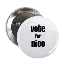 "Vote for Nico 2.25"" Button (100 pack)"