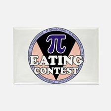Pi Eating Contest Rectangle Magnet