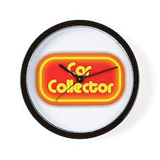 Car Collector (neon) Wall Clock