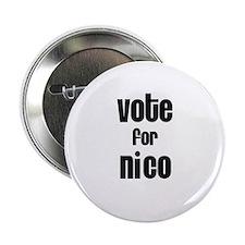 Vote for Nico Button