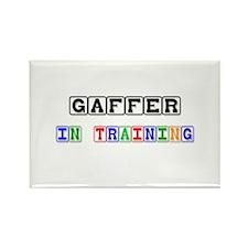Gaffer In Training Rectangle Magnet