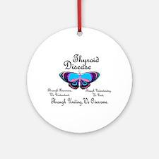 Butterfly Awareness 1 (Thyroid Disease) Ornament (