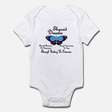 Butterfly Awareness 1 (Thyroid Disease) Infant Bod