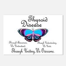 Butterfly Awareness 1 (Thyroid Disease) Postcards