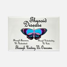 Butterfly Awareness 1 (Thyroid Disease) Rectangle