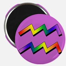 GLBT Aquarius p Magnet