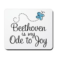 Beethoven Ode To Joy Mousepad
