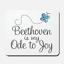 Beethoven Ode To Joy Mousepad