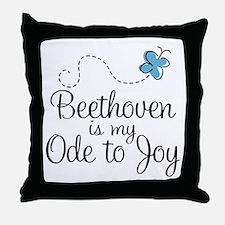 Beethoven Ode To Joy Throw Pillow
