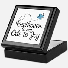 Beethoven Ode To Joy Keepsake Box