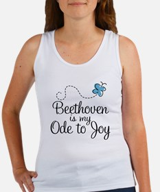 Beethoven Ode To Joy Women's Tank Top