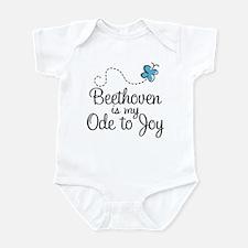 Beethoven Ode To Joy Infant Bodysuit