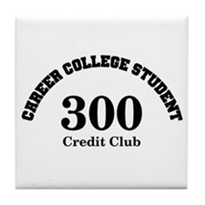 Career College Student Tile Coaster