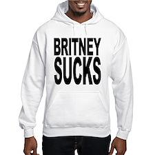 Britney Sucks Hooded Sweatshirt