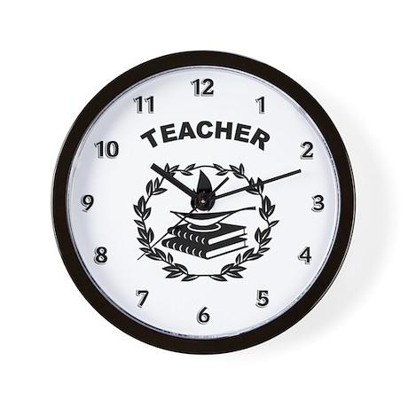 Teacher Theme Wall Clock