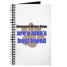 Romagna Water Dogs man's best friend Journal