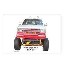 Chevy S10 4X4 Postcards (Package of 8)