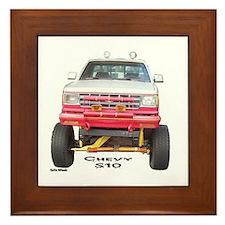 Chevy S10 4X4 Framed Tile