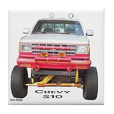 Chevy S10 4X4 Tile Coaster
