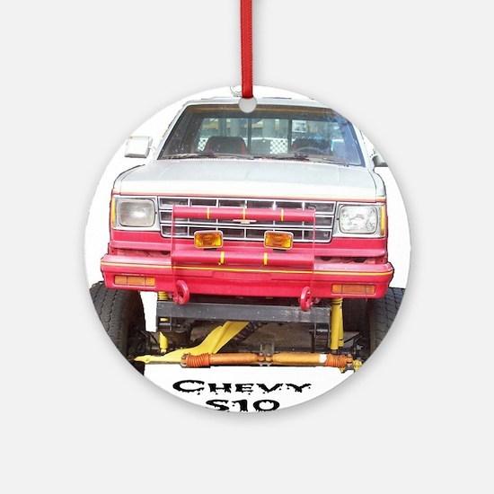 Chevy S10 4X4 Ornament (Round)