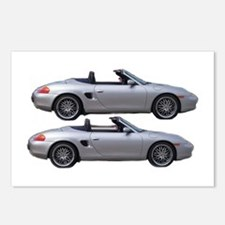 Double Boxster Postcards (Package of 8)