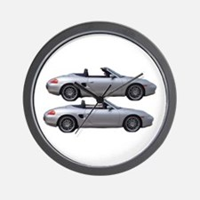 Double Boxster Wall Clock