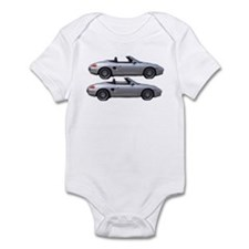 Double Boxster Infant Bodysuit