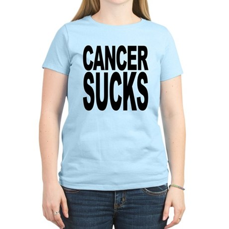 Cancer Sucks Women's Light T-Shirt