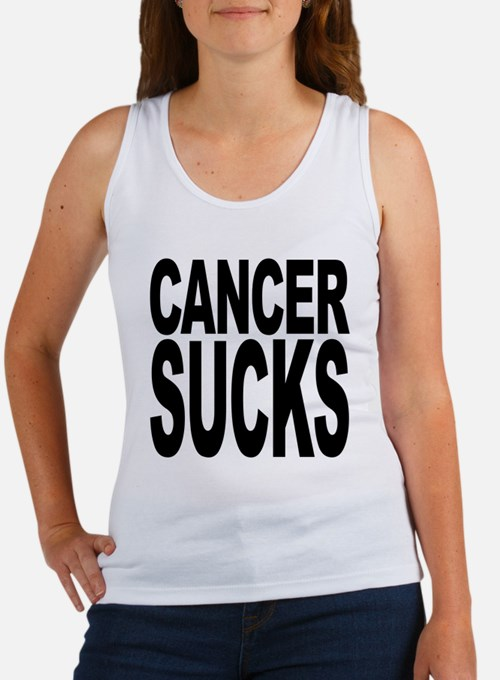 Cancer Sucks Women's Tank Top