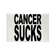 Cancer Sucks Rectangle Magnet (100 pack)