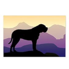 Purple Mountains Bullmastiff Postcards (Package of