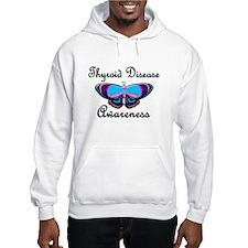 Butterfly Awareness 2 (Thyroid Disease) Hoodie