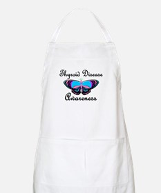 Butterfly Awareness 2 (Thyroid Disease) BBQ Apron