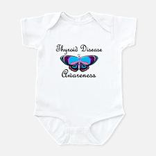 Butterfly Awareness 2 (Thyroid Disease) Infant Bod