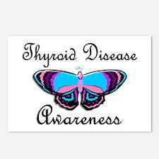 Butterfly Awareness 2 (Thyroid Disease) Postcards